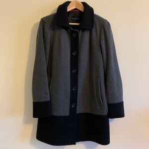 Banana Republic wool coat, size M
